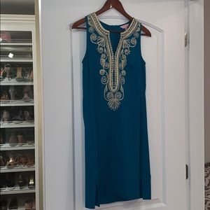 CARLOTTA STRETCH SHIFT DRESS size 2